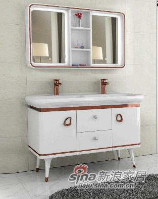 安华卫浴实木浴室柜anPGM33019G-A