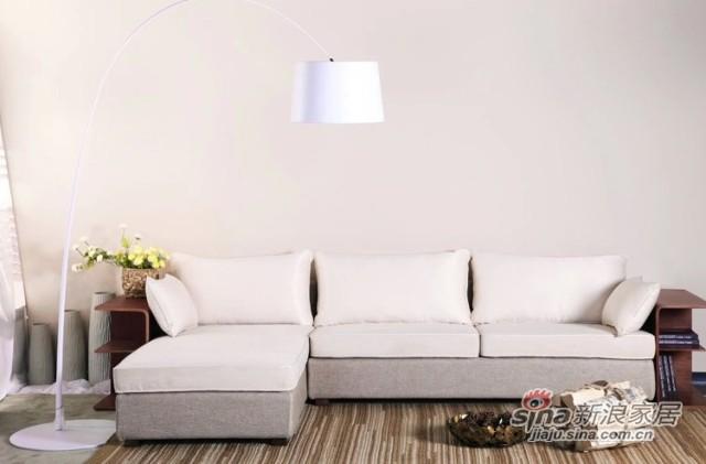 曲美SSZA客厅组合沙发
