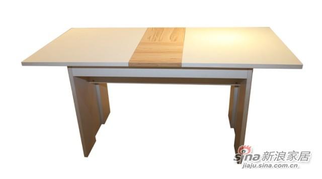 迈格家具 餐桌S2-11CT 白色 苹果木-0