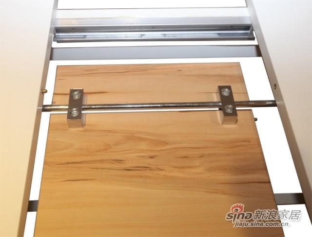 迈格家具 餐桌S2-11CT 白色 苹果木-1