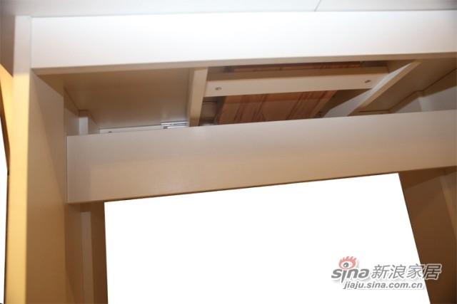 迈格家具 餐桌S2-11CT 白色 苹果木-2
