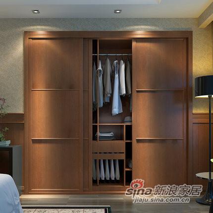 玛格定制家具移门H型定制衣柜-1