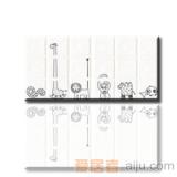 红蜘蛛瓷砖-白砖系列-墙砖(花片)RY36000T1(300*300MM)