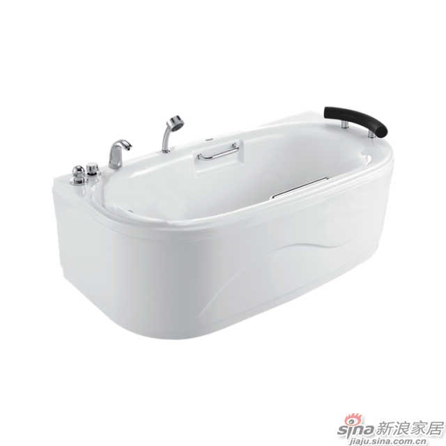 恒洁卫浴浴缸HLB603KNS1-163-0