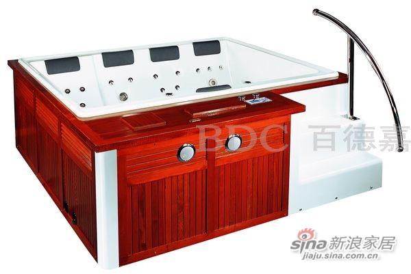 百德嘉休闲卫浴-H883101按摩浴缸-0