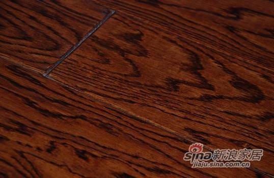 书香门地美学地板 经典酒红色FS006-3