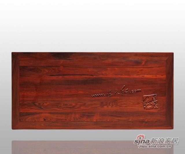 连天红松竹梅书桌-4