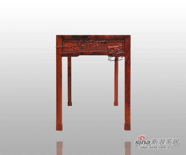 连天红松竹梅书桌-5