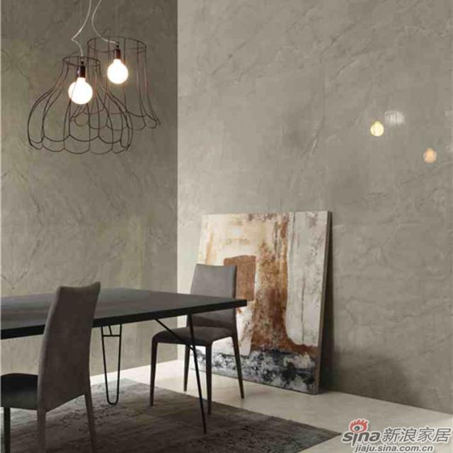 IMOLA陶瓷16年新品缪斯系列将石材的典型纹理与大理石的特质发挥到极致。<br><center><b>【工艺品质】</center></b>1200度以上的高温烧制能使釉料充分分解,窑变呈现出最佳颜色,同时1200度高温也使得砖坯能达到高硬度。