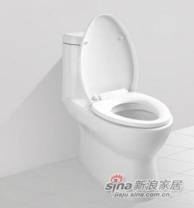 九牧卫生间连体抽水马桶-0