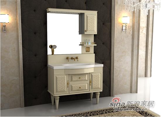 安华卫浴一体浴室柜anPGM3380B-C-1