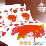 家元素床上用品爱情密码四件套(纯棉)HQ1500001