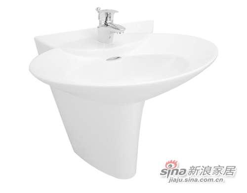 TOTO立柱式洗脸盆LW908HFB-0