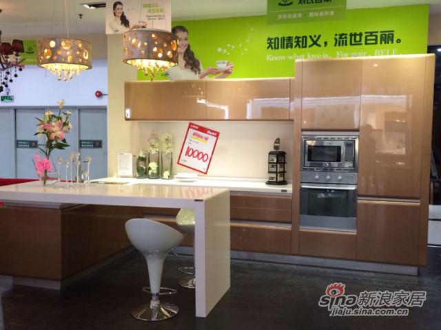 阿克苏宝马烤漆系列整体厨柜-1