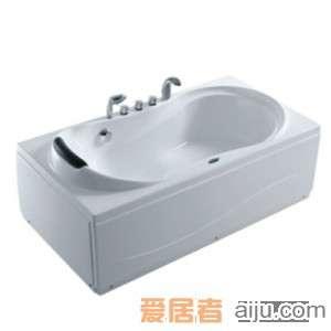 法恩莎浴缸F1701SQ(1710*810*600mm)1