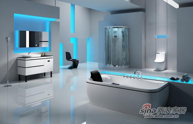 安华卫浴FIO菲尔系列淋浴房-0
