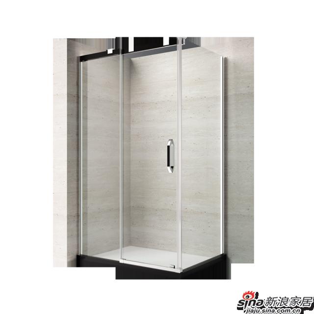 恒洁卫浴淋浴房HLG55F31