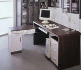 富之岛电脑桌紫檀系列11R2