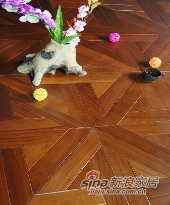 宏鹏地板艺术拼花系列—翠岛枫尚PH228