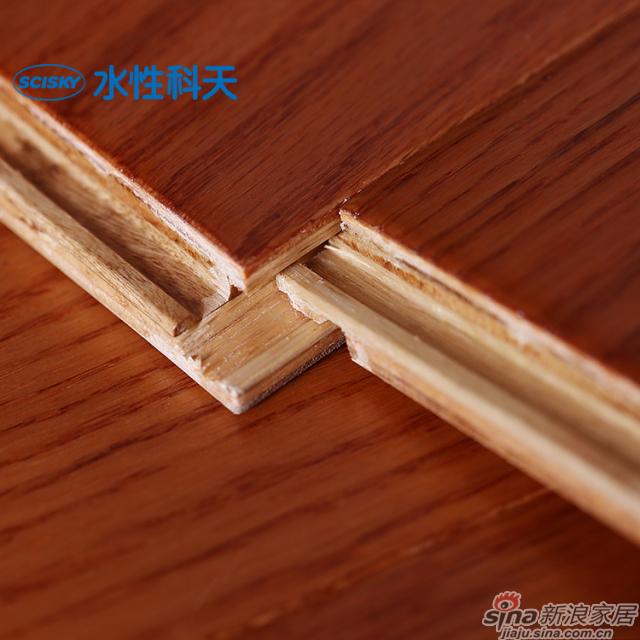 热恋花火美国红橡实木复合地板-4