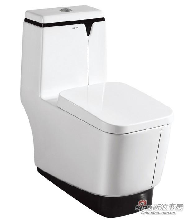 法恩莎卫浴连体座便器FB1692M