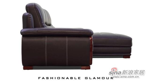 左右沙发现代客厅沙发组合-2