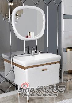 安华卫浴实木浴室柜anPGM33017G
