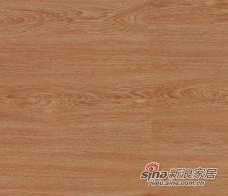 大卫地板中国红-锦绣红系列强化地板DW0037北美红橡-0