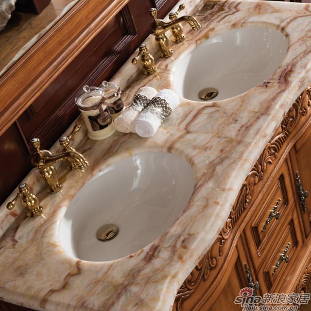 阿洛尼浴室柜-欧式仿古柜-A1610-1