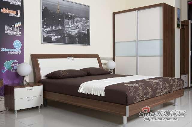 东方百盛-B580双人床-0