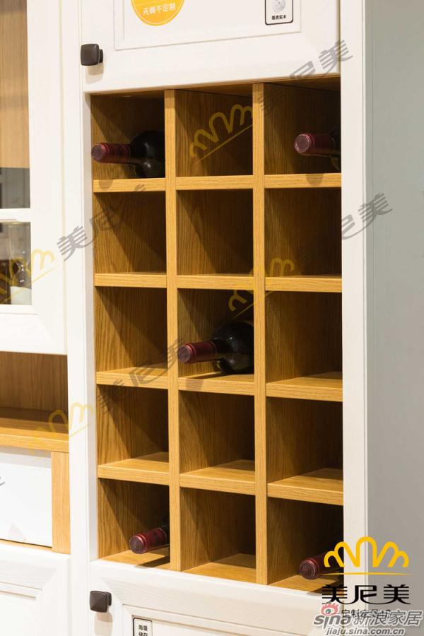 伊丽莎白-客厅展示柜-藏酒区细节