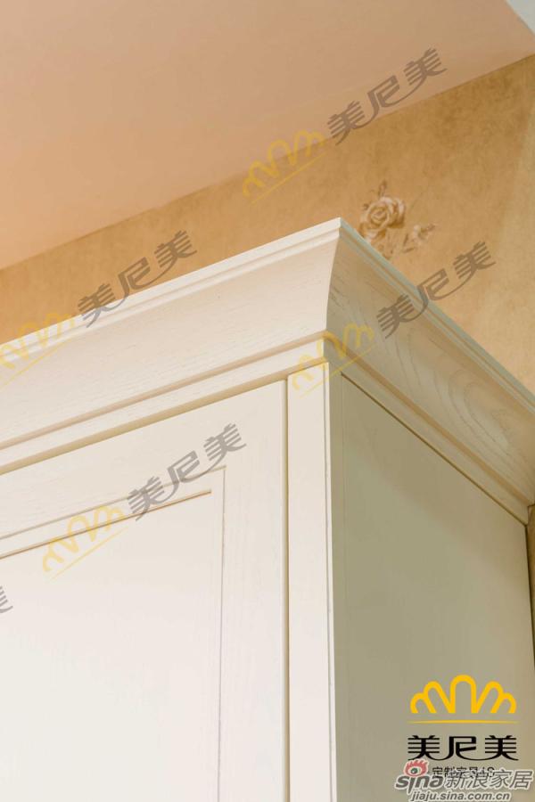 伊丽莎白-客厅展示柜-顶端边角细节