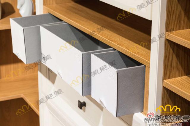 伊丽莎白-客厅展示柜-收纳区细节