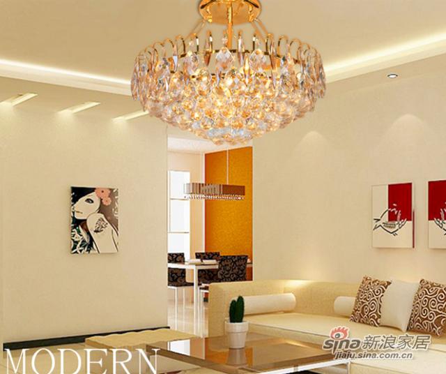 钜豪菠萝圆形灯具客厅灯吸顶灯MD89350 550mm