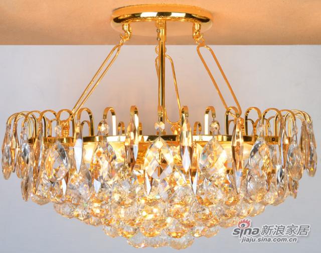 钜豪菠萝圆形灯具客厅灯吸顶灯MD89350 550mm-1