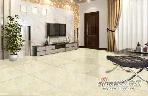 金意陶瓷砖西米黄全抛釉墙-1