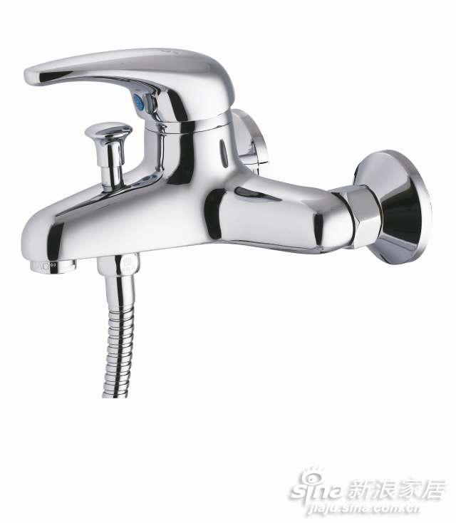 特陶厚重悠远系列单把浴缸龙头-0