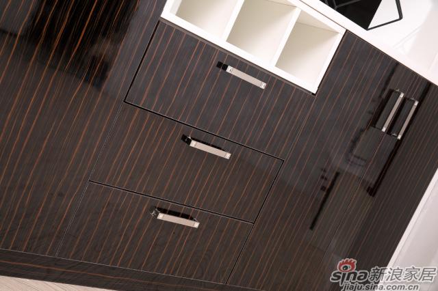 合生雅居天使白+高光UV电视柜、间厅柜-4