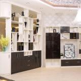 合生雅居天使白+高光UV电视柜、间厅柜