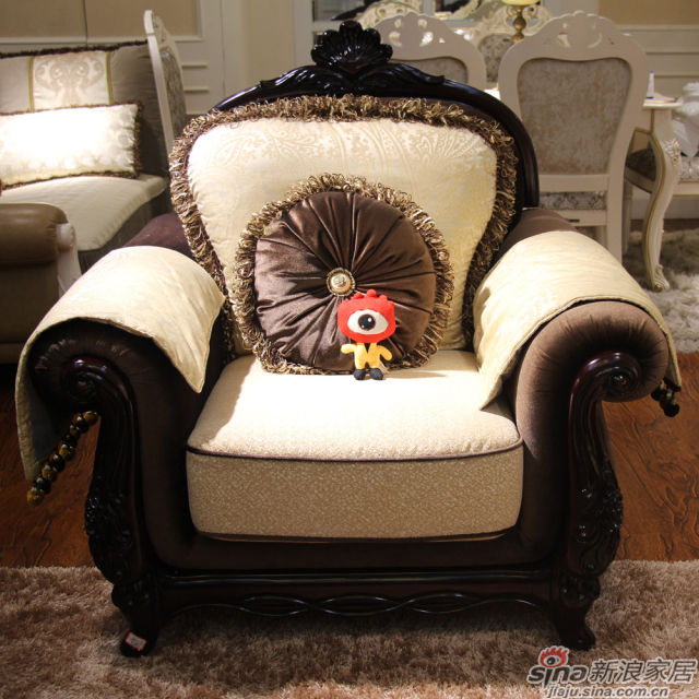 圣洛克经典款685001-2沙发单人位