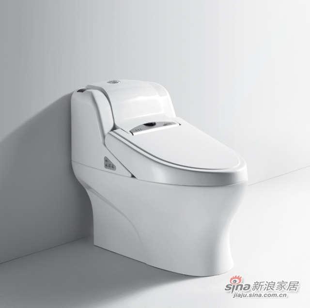 航标卫浴全自动一体化中水箱智能座-0
