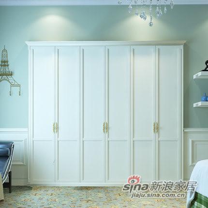 玛格定制家具简约欧式定制衣柜-2