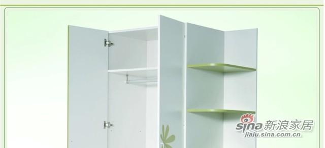 七彩人生 儿童衣柜 板式两门衣柜 -3