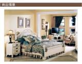 艾芙迪 卧室家具 床 1.8M实木床 象牙白 ACL50-773M