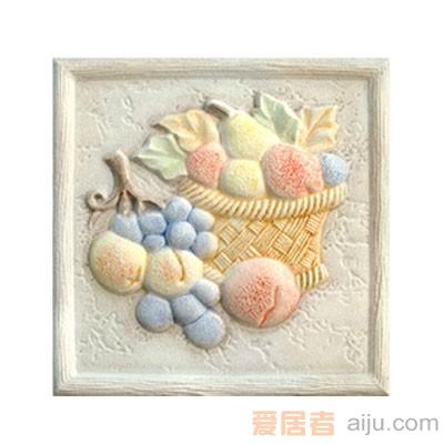 嘉俊-艺术质感瓷片[城市古堡系列]DD1501PW2(150*150MM)1