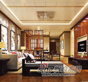 法狮龙吊顶 客厅整体解决方案13吊顶天花-0