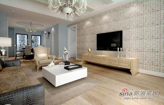 金桥地板多层实木复合木地板实木环保地暖地板拉丝白纹理