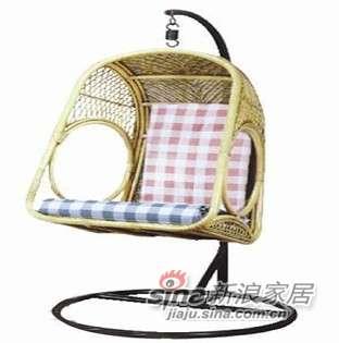凰家御器藤风情吊椅摇椅休闲椅太阳椅藤家具NH-Y025-0