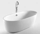和成卫浴1.8米压克力岛型浴缸 - F6501T