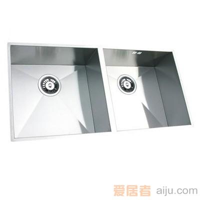 GORLDE优质不锈钢水槽/洗菜池SQ系列SQ09(双方盆)1